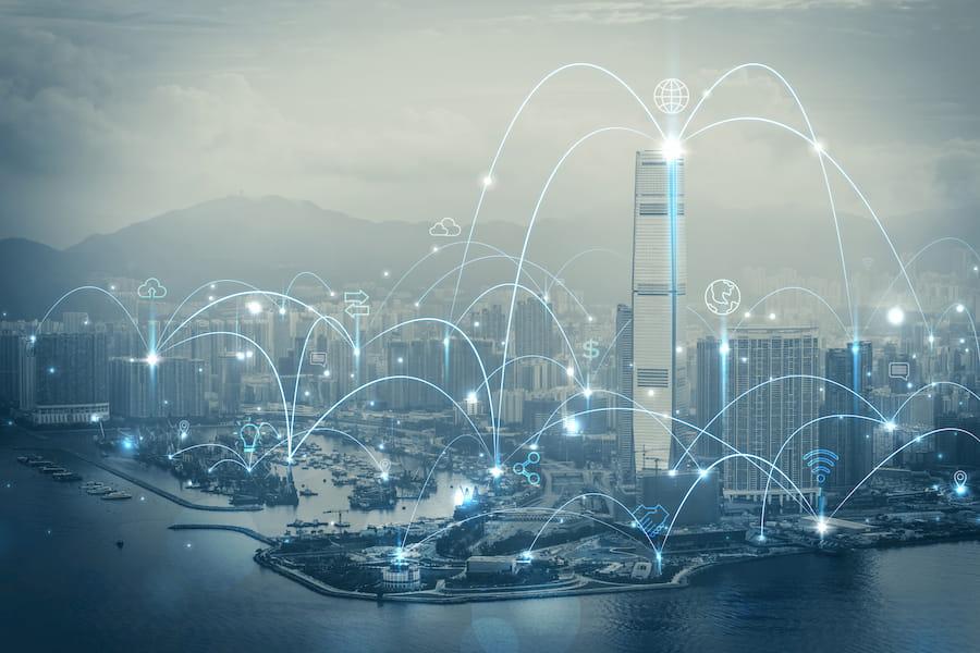 5g Telecom city
