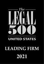 Legal 500 Leading Firm 2021